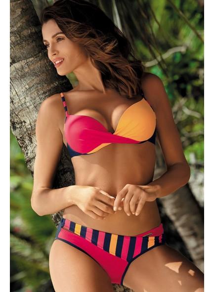 Bikini dvodelne kopalke - Lara rdeče