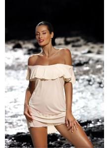 Tunika za na plažo - Darja-bež